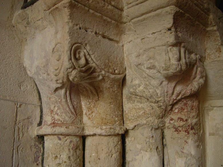 Eglise MArcenais détail extérieur