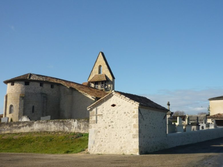 Eglise Saint Martin de Gajac (2)