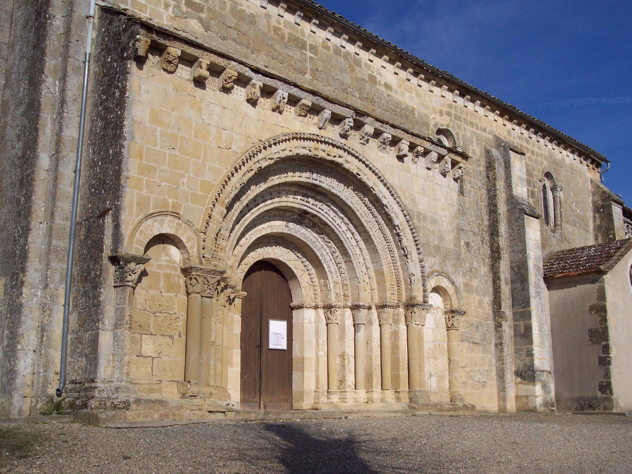 Eglise St Martin de Sescas