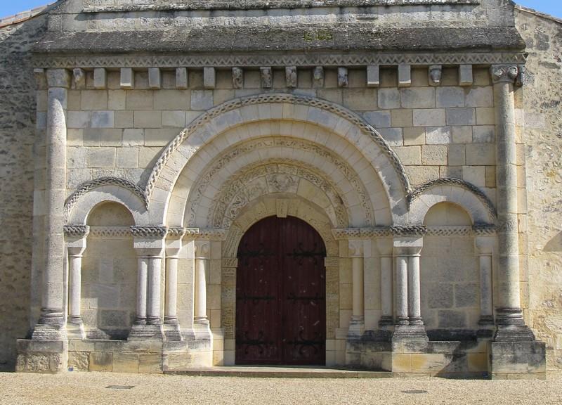 Eglise de Cubnezais – portail