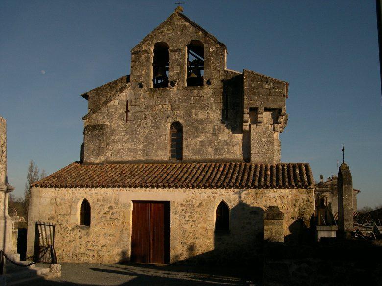 Eglise de Marcenais Haute Gironde
