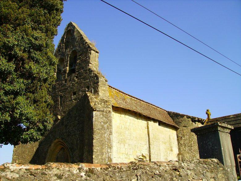 Eglise st Pierre Fossès et Baleyssac