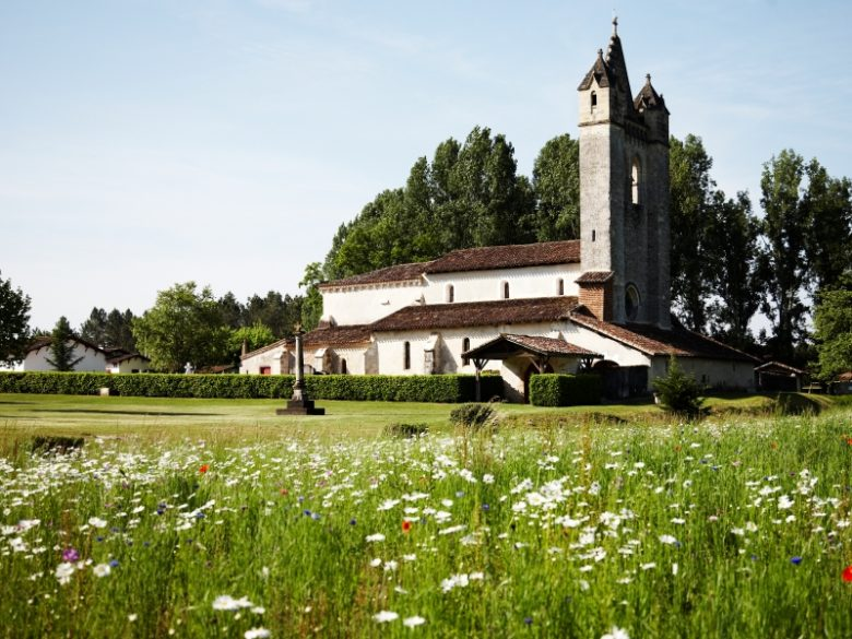 Escaudes – église
