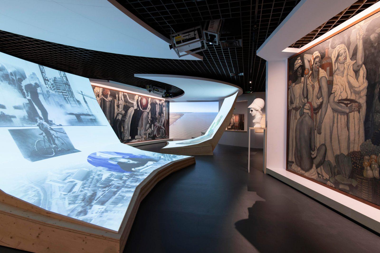 Musée d'Aquitaine, Espaces-20e–21e