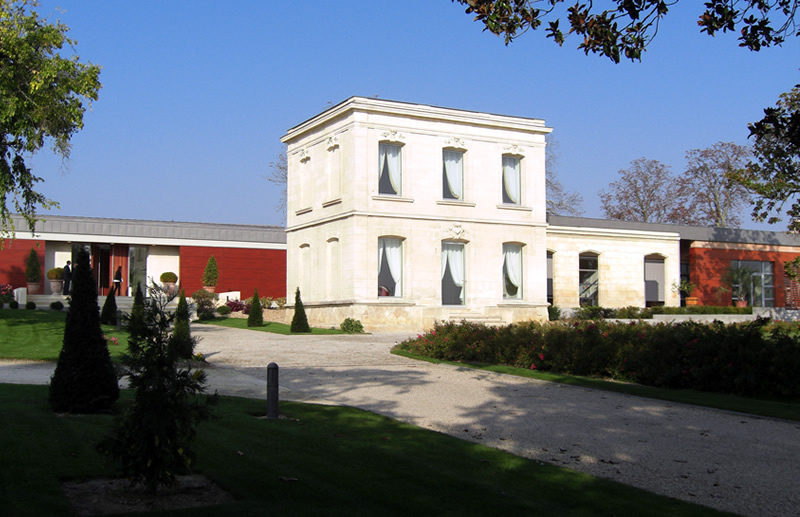 Façade Château Luchey-Halde