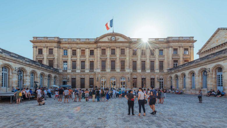 Palais Rohan, cour d'Honneur