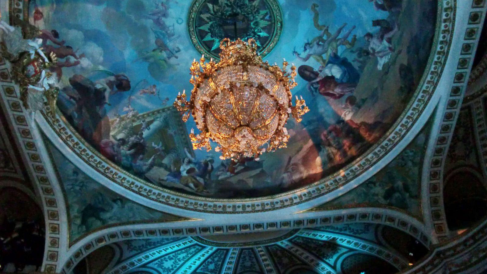 Plafond de la salle de spectacle du Grand-Théâtre, JEP