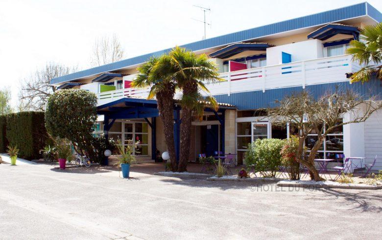 HOTEL DU PORGE FACADE
