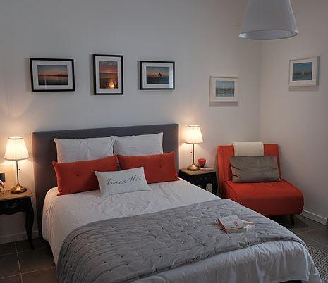 Villa pierartlou – chambre orange – Arès