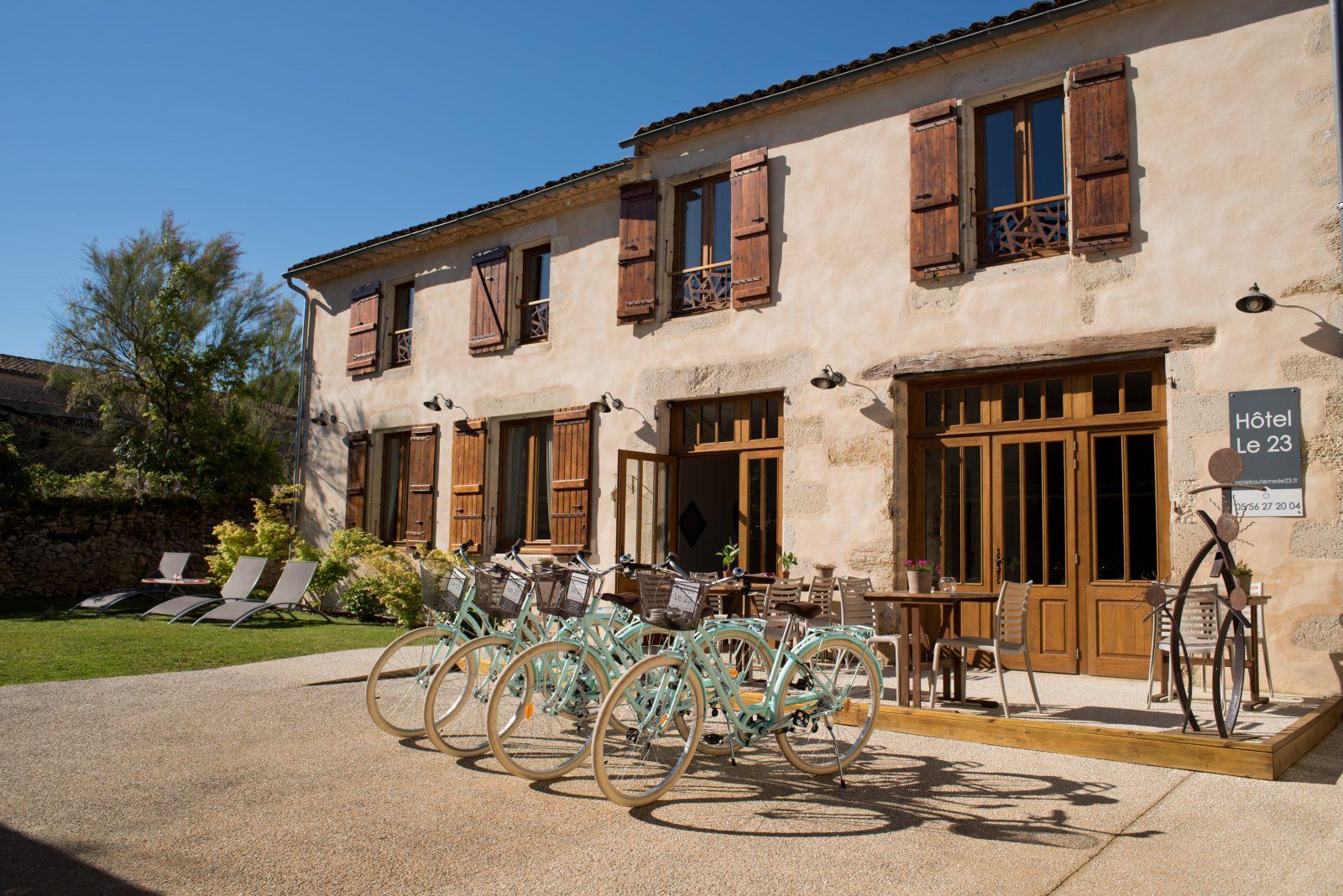 Hôtel Le 23 – SAUTERNES – Sud-Gironde