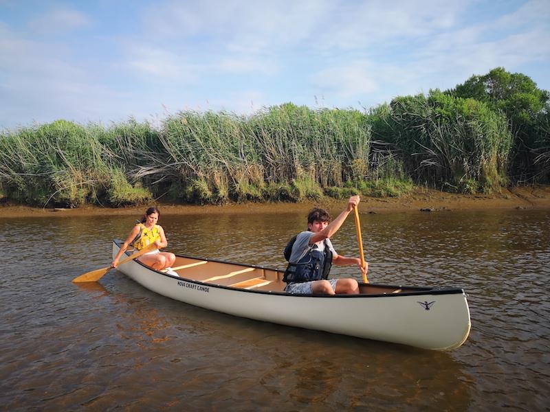 Canoe delta de l'eyre