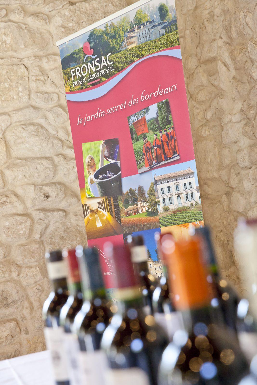 maison des vins fronsac- bouteilles