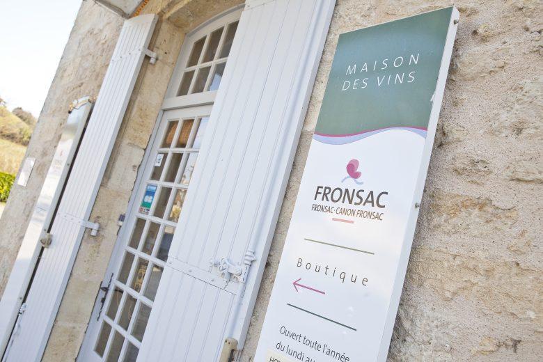 maison des vins fronsac – entrée
