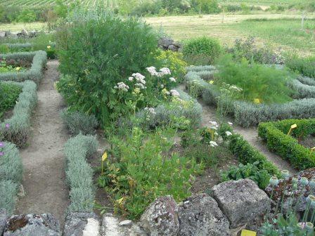 Jardin médiéval de Sallebruneau