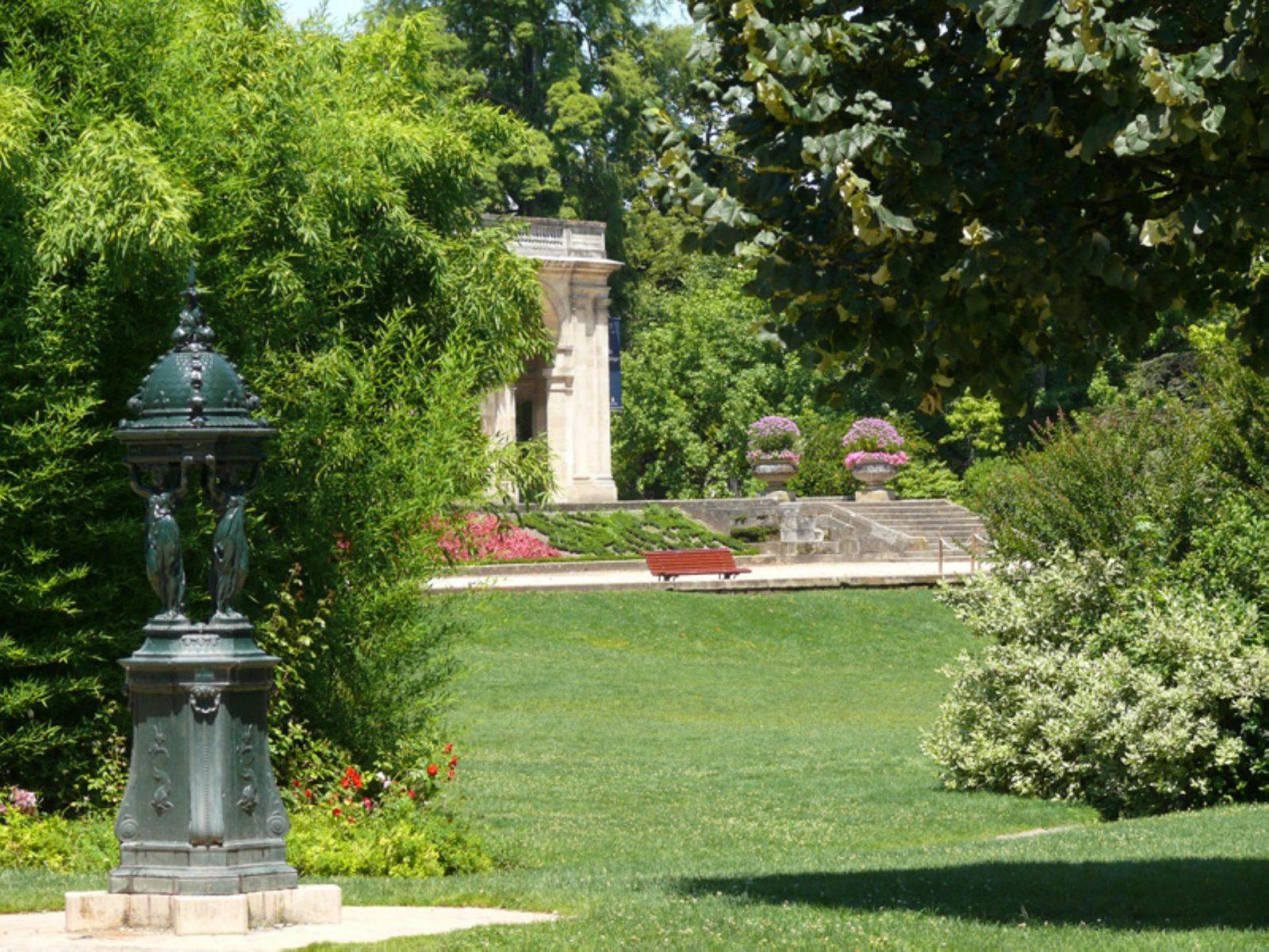 Jardin-public, la terrasse