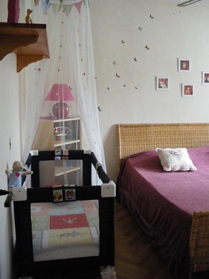L'éfémer -chambre lit bébé_Arès ©Mme Chenais