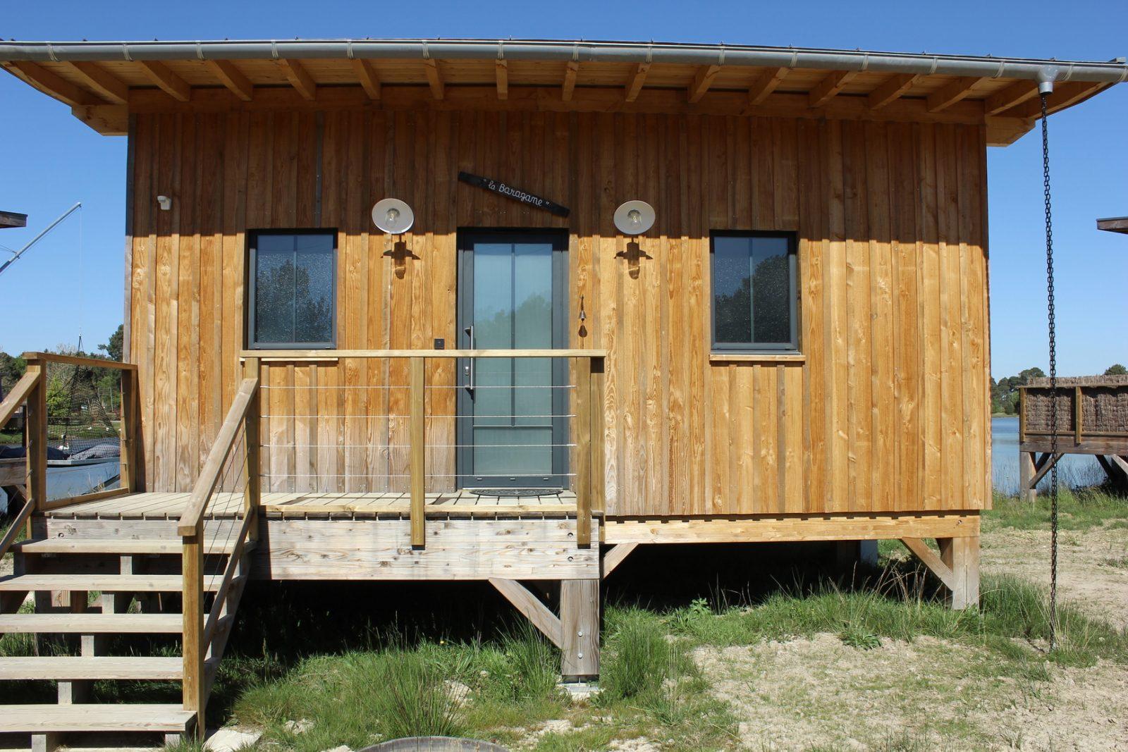 La Baragane – Ecolodges – SAINT-PARDON-DE-CONQUES – Sud-Gironde