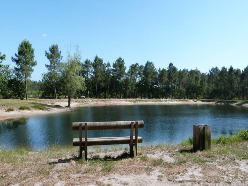 Lac de croix d'hins