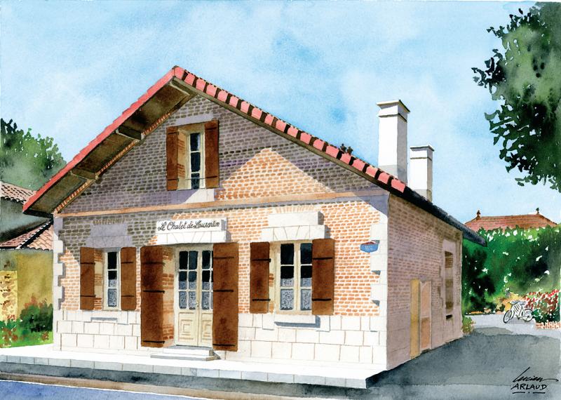 Le Chalet de Laurentin – HOSTENS – Sud-Gironde