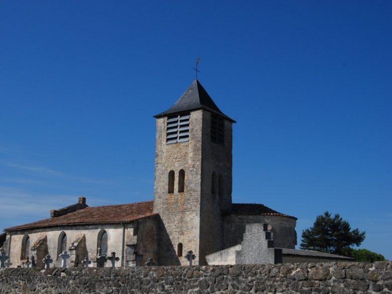 Le Nizan – église