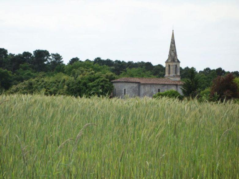 Lignan de Bazas – église
