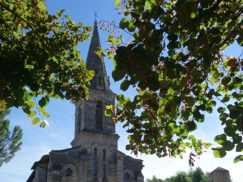 Lignan de Bazas – église1