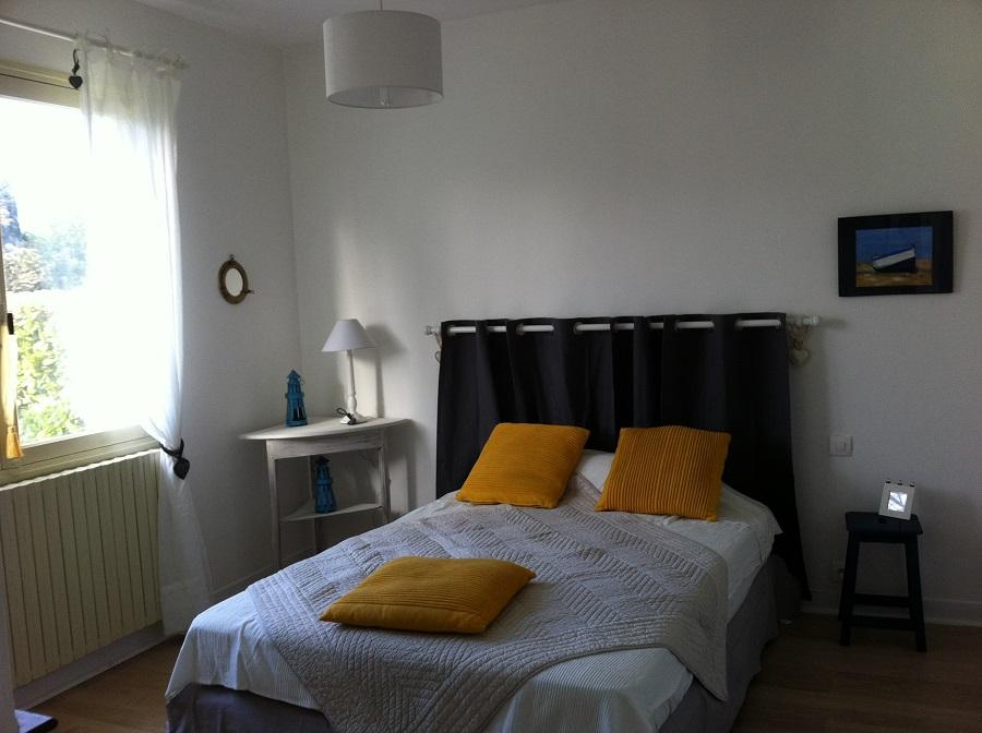 Location de vacances – chambre double – Arès – Bassin d'Arcachon