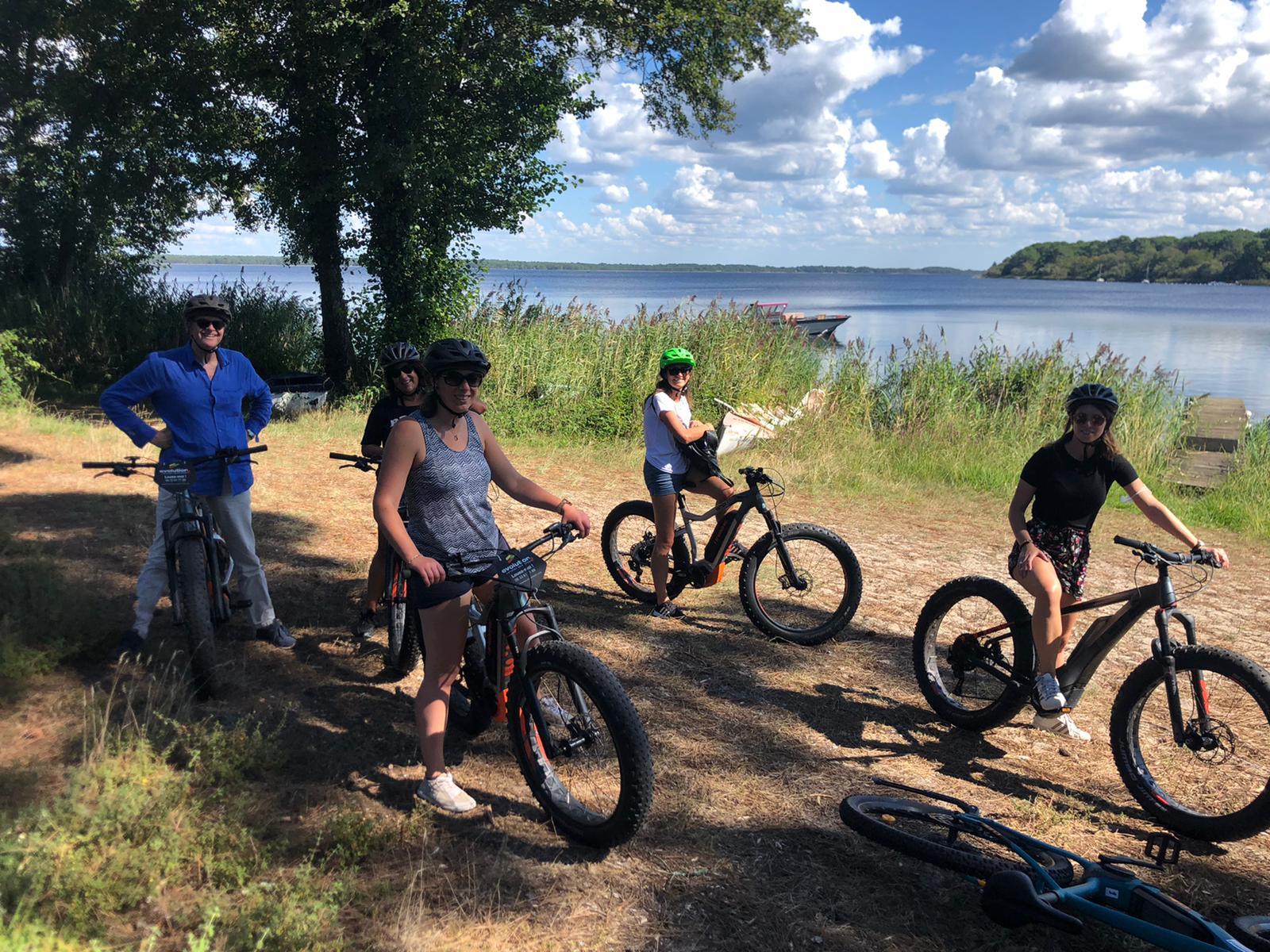 Location de vélo – évolution 2 Lacanau e-bike school 3