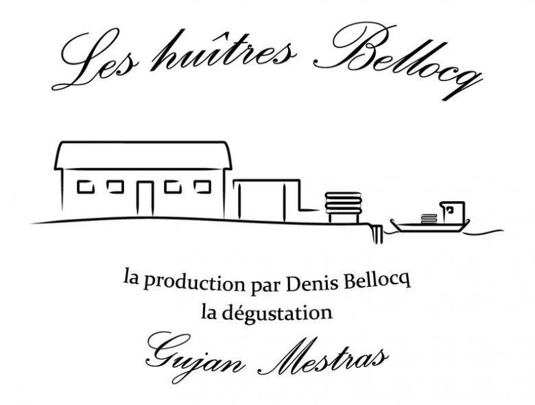 Logo huitres Bellocq noir sur blanc [800×600]