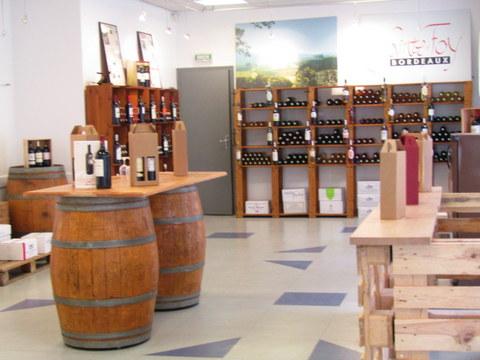Maison des Vins Ste Foy Côtes de Bordeaux