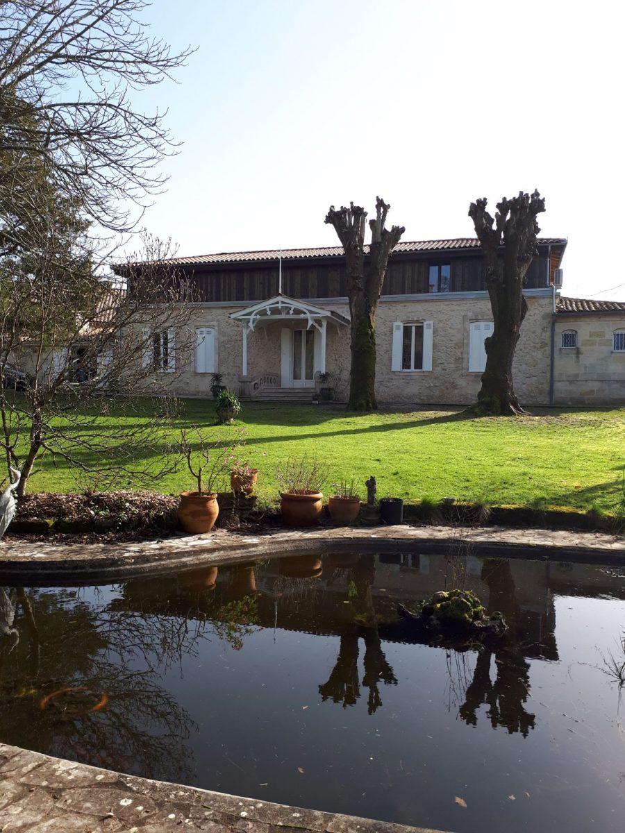 Maison et jardin du Domaine de Garat