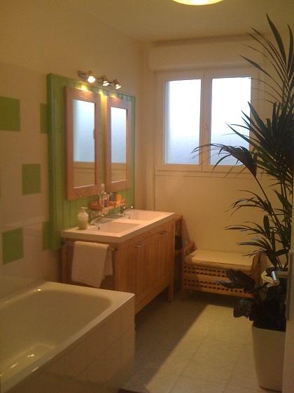 Meublé salle de bain Arès – Bassin d'Arcachon©Mme Boechat –