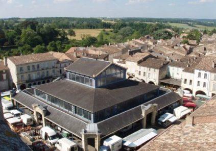 Halle de Monségur