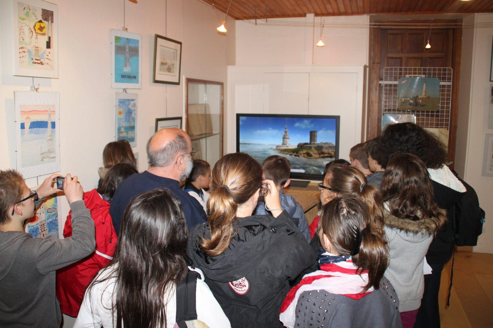 Musée phare de Cordouan – Salle 3D