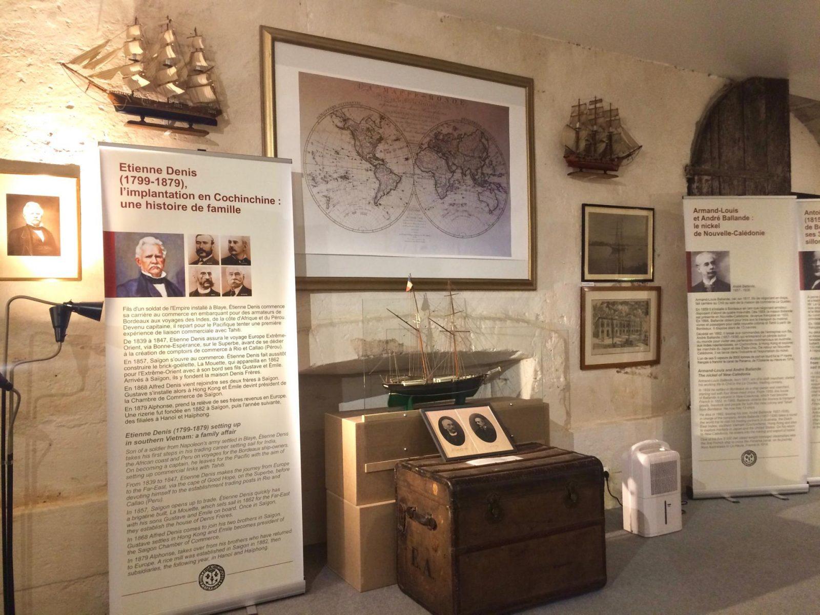 Musée de l'histoire maritime de Bordeaux, les négociants
