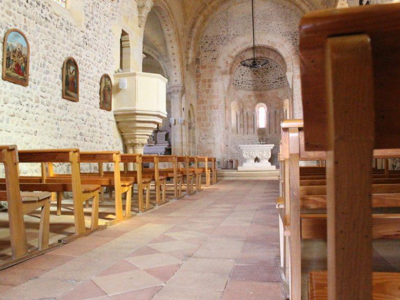 Intérieur église Notre Dame de Lanton