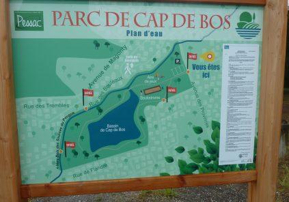 Balade à roulettes : Le parc de Cap de Bos