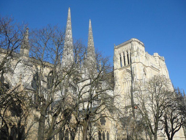 Cathédrale St André – façade Sud