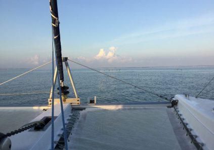 Balade en catamaran vers le Banc d'Arguin