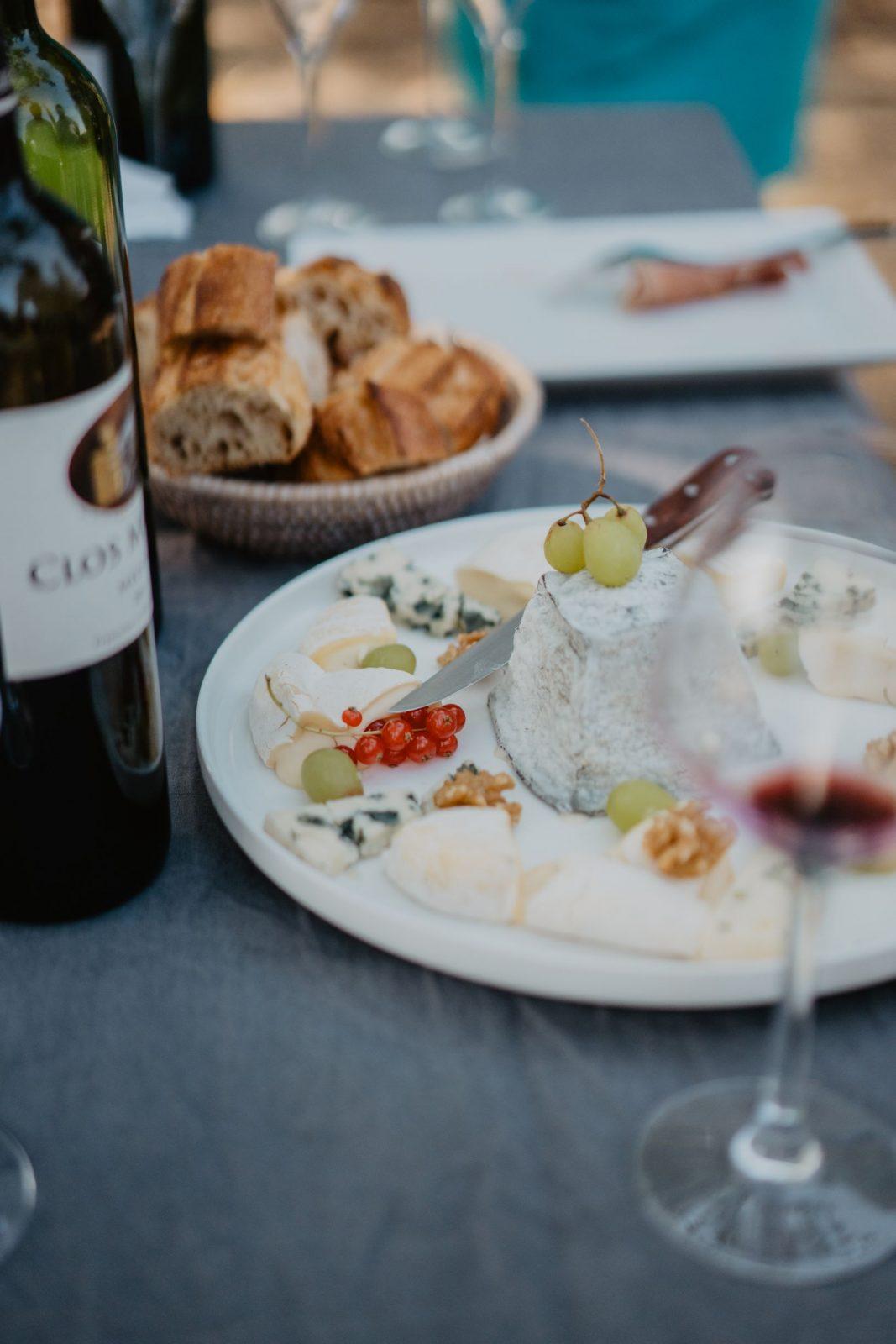 Pause vin et fromages – Le Coeur des Vignes Pauillac