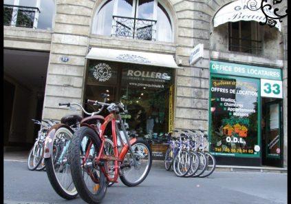 Location de vélos «Pierre qui Roule»