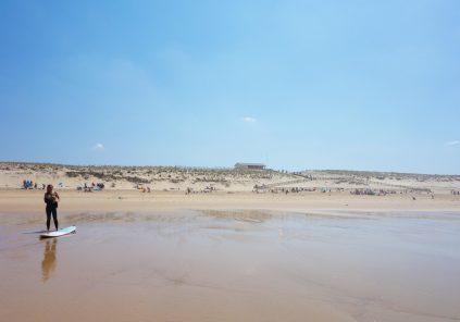 Plage surveillée de Lacanau (plage nord)