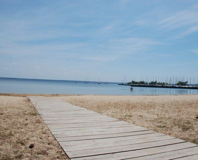 Plage de Cazaux Lac