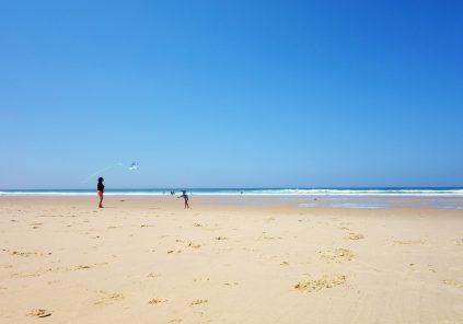 Plage surveillée de Lacanau (plage super sud)