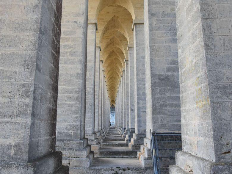 Pont Eiffel dessous Cubzac les ponts