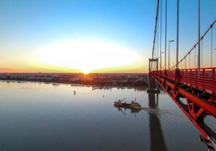 La grande traversée des ponts