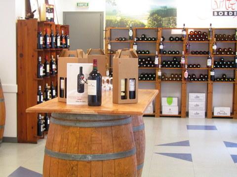 Présentation vins Maison des Vins Ste Foy Côtes de Bordeaux