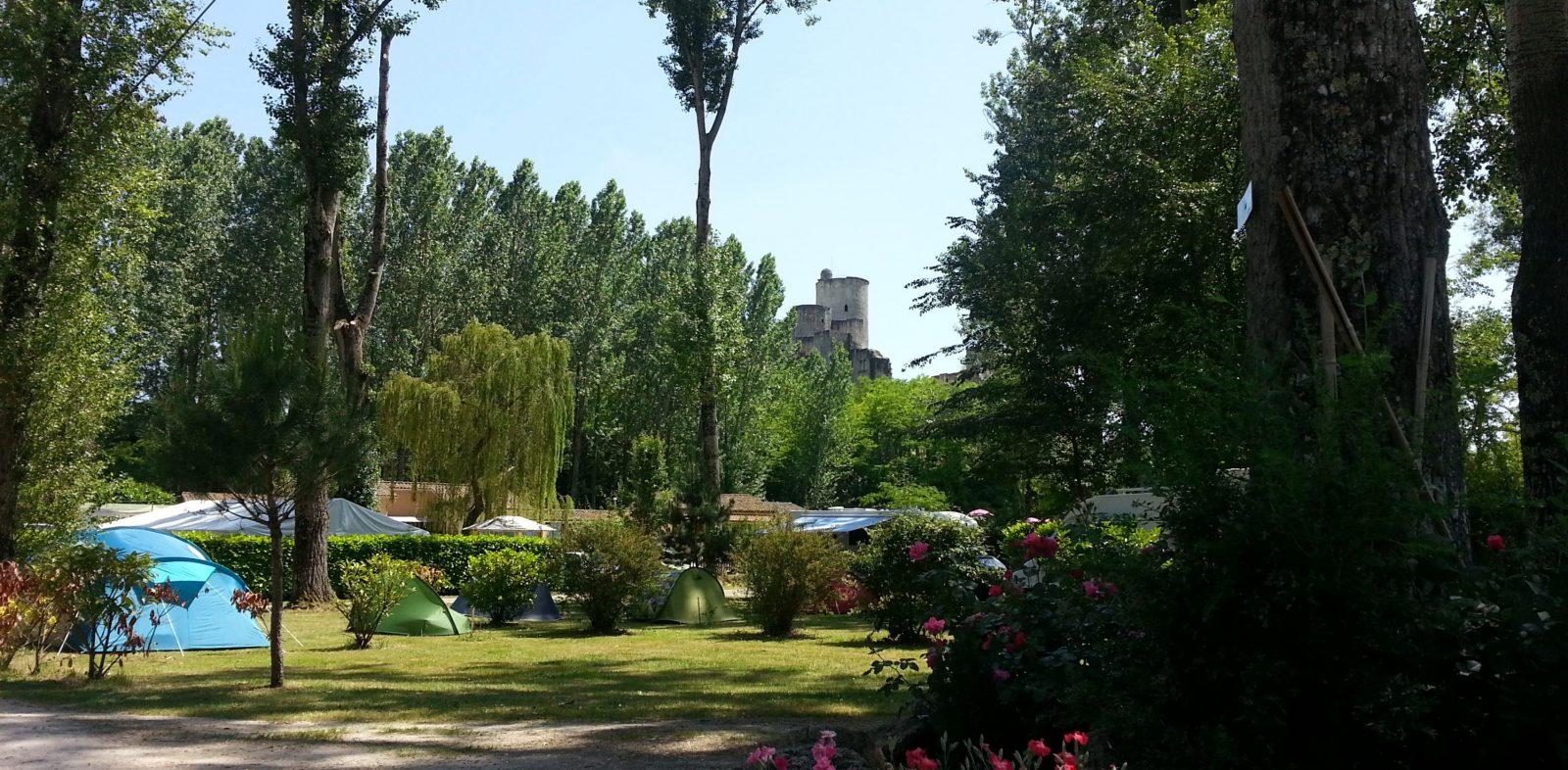 Entrée – Camping du Vieux Château – Rauzan