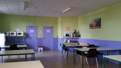 Réfectoire – Centre de Vacances de Margueron