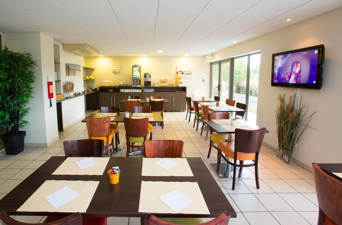 Résidence All Suites 2016 -Salle repas